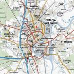 Localisation du projet à Chalon-sur-Saône