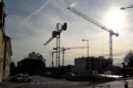 photo chantier de construction